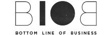 BLOB logo grayscale